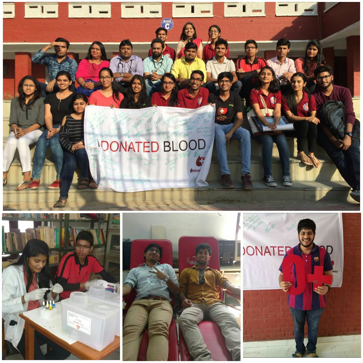 nss hrc events blood donation camp 25th 2016